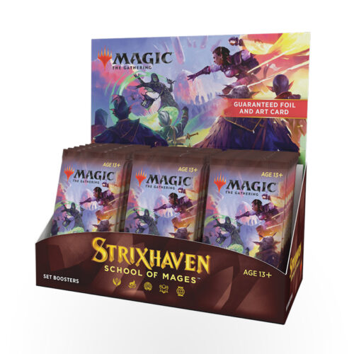 Magic: The Gathering – Strixhaven: School of Mages Set Booster Box