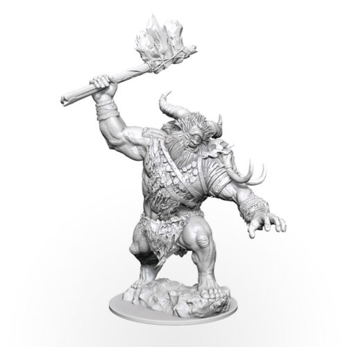 Magic: The Gathering Unpainted Miniatures - Borborygmos (Cyclops)
