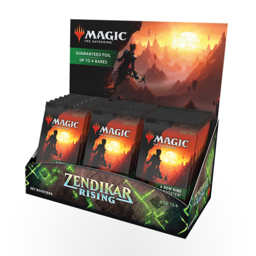 Magic: The Gathering – Zendikar Rising Set Booster Box