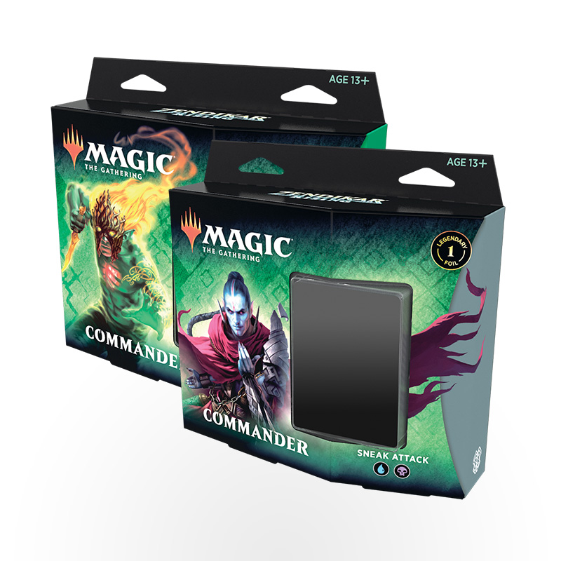 Magic: The Gathering – Zendikar Rising Commander Deck