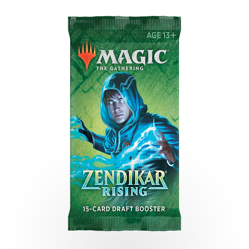 Magic: The Gathering – Zendikar Rising Draft Booster