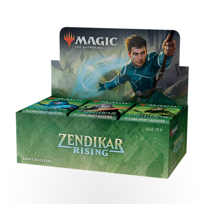 Magic: The Gathering – Zendikar Rising Draft Booster Box