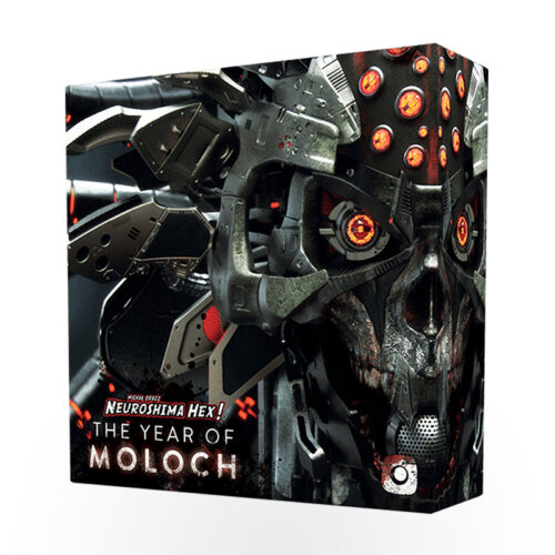 Stalo žaidimas Neuroshima Hex! 3.0 The Year of Moloch Edition