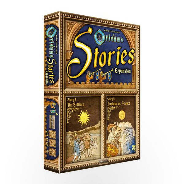 Board Game Orléans Stories Expansion: Stories 3 & 4