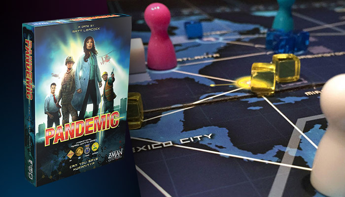 Stalo žaidimas Pandemic