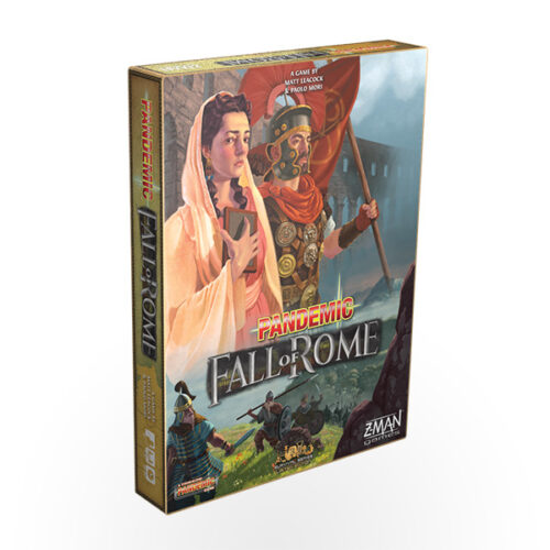 Stalo žaidimas Pandemic: Fall of Rome