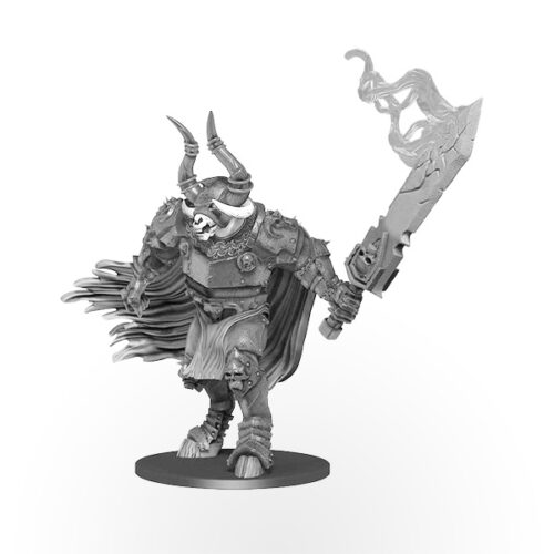 Pathfinder Battles Deep Cuts Miniatures - Minotaur Labyrinth Guardian