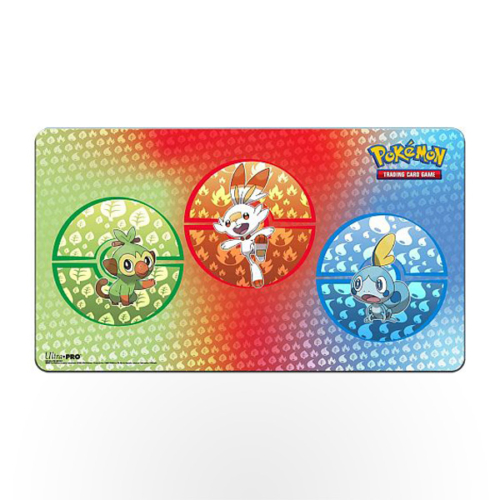 Pokémon Sword and Shield Galar Starters Playmat
