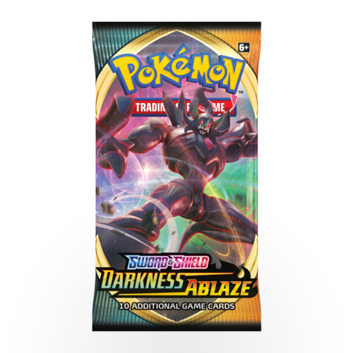 Pokémon TCG: Sword & Shield - Darkness Ablaze Booster