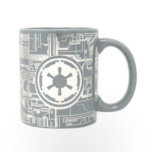 Pyramid Foil Mugs - Star Wars (Death Star Surface)