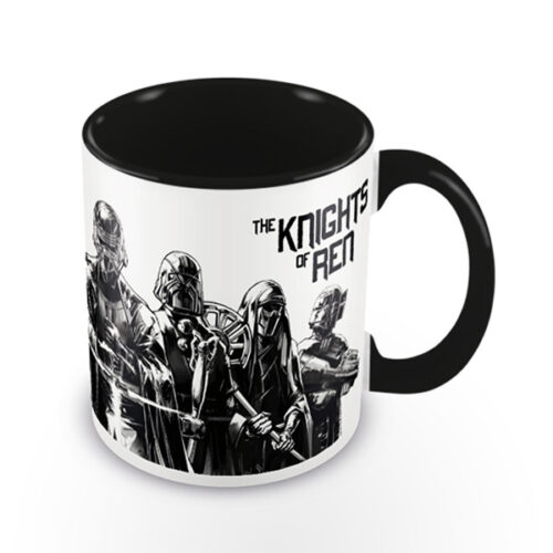 Pyramid Coloured Inner Mugs - Star Wars: The Rise of Skywalker (Knights Of Ren) Black