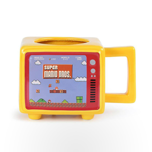 Retro TV Heat Change Mug - Super Mario Bros