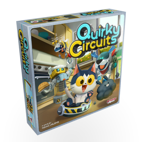 Stalo žaidimas Quirky Circuits