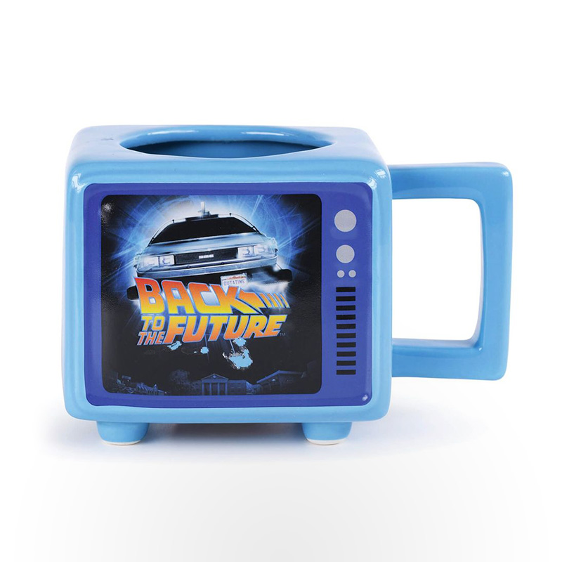 Retro TV Heat Change Mug - Back to the Future (Flux Capacitor)