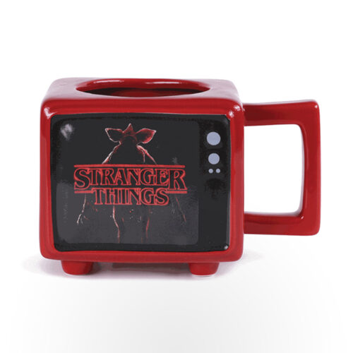 Retro TV Heat Change Mug - Stranger Things (I Survived Hawkins)