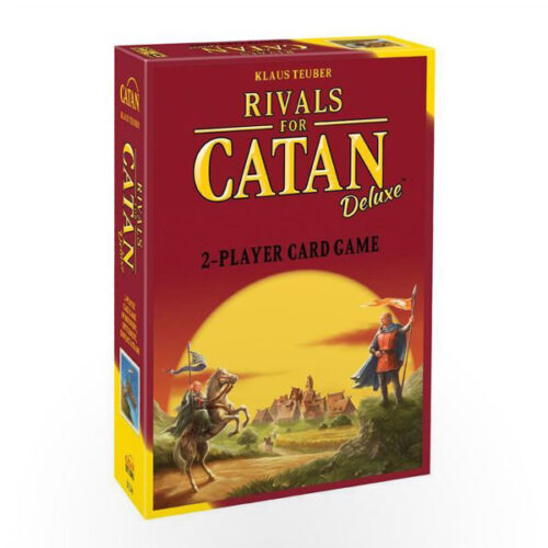 Stalo žaidimas Rivals of Catan: Deluxe