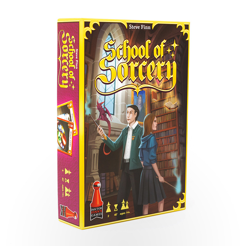 Stalo žaidimas School of Sorcery