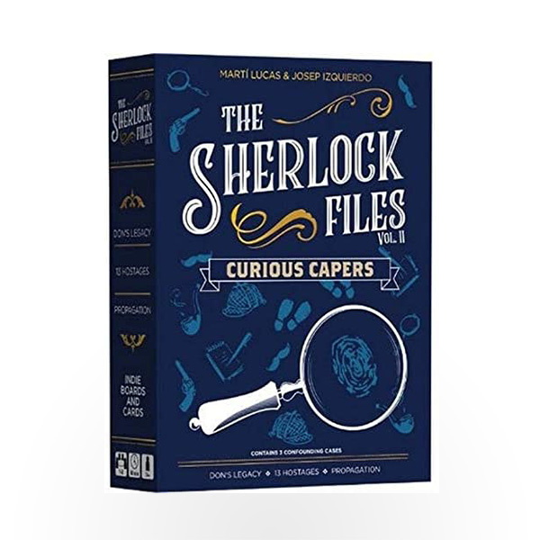 Stalo žaidimas The Sherlock Files: Curious Capers