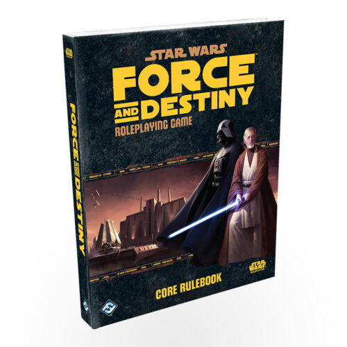 Vaidmenų žaidimas Star Wars RPG: Force and Destiny Core Rulebook