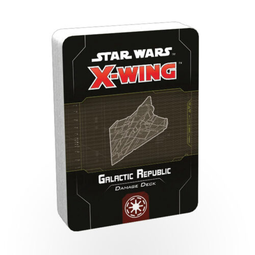 Star Wars: X-wing - Damage Deck: Galactic Republic