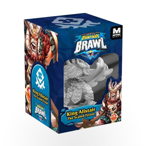 Stalo žaidimas Super Fantasy Brawl: King Alistair Expansion