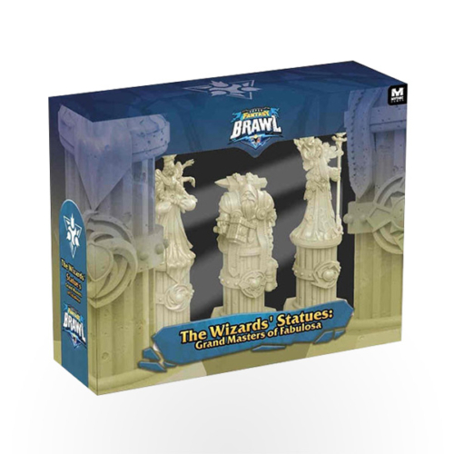 Stalo žaidimas Super Fantasy Brawl: The Wizards' Statues Expansion