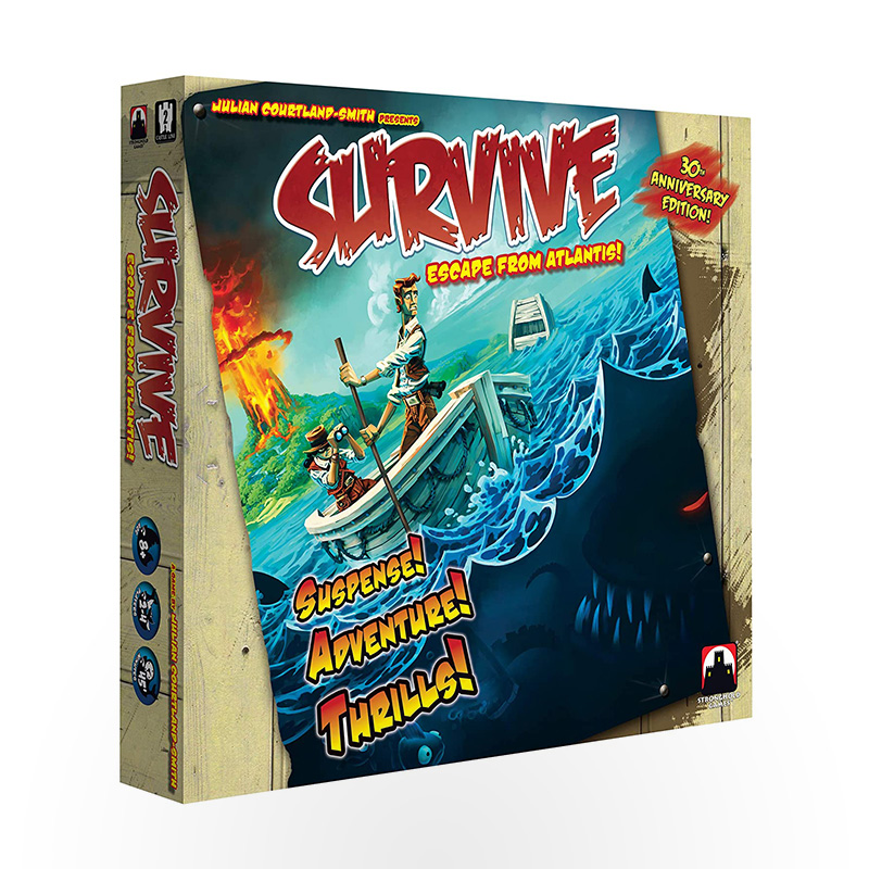 Stalo žaidimas Survive: Escape from Atlantis! - 30th Anniversary Edition