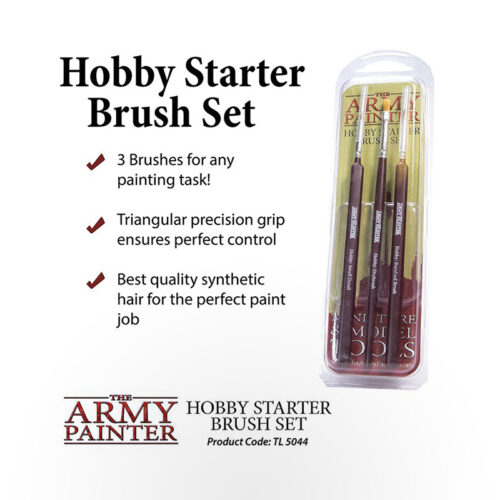 The Army Painter Hobby Starter Brush Set