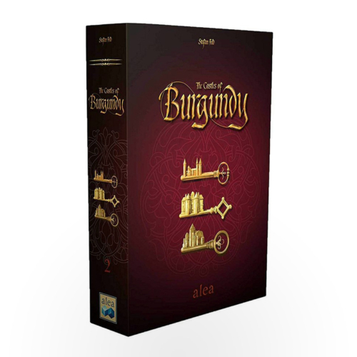 Stalo žaidimas The Castles of Burgundy (revised edition)