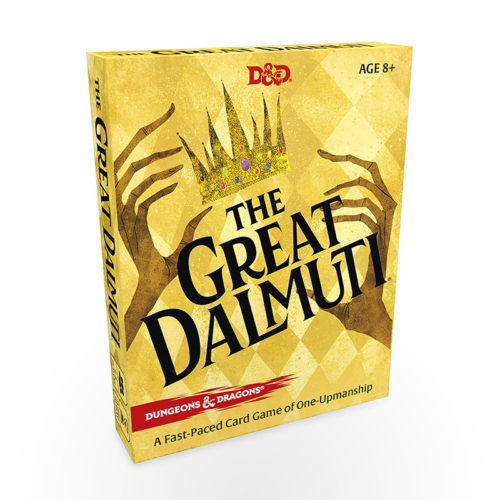 Stalo žaidimas The Great Dalmuti: Dungeons & Dragons