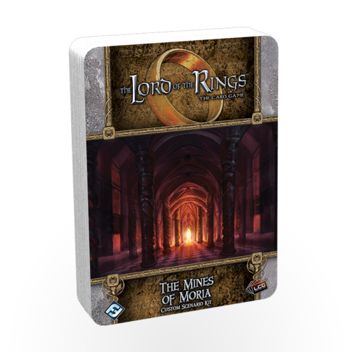 Stalo žaidimas The Lord of the Rings: The Card Game - The Mines of Moria Custom Scenario