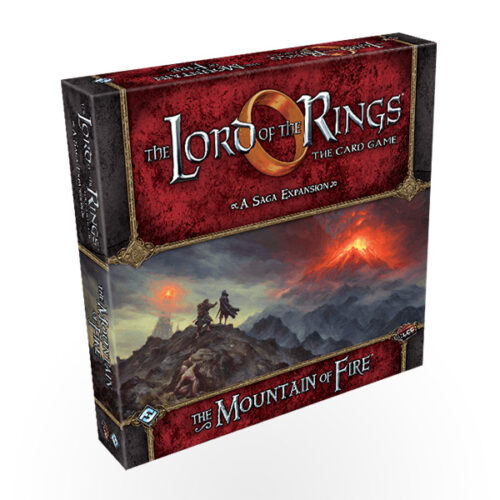 Stalo žaidimas The Lord of the Rings: The Card Game – The Mountain of Fire