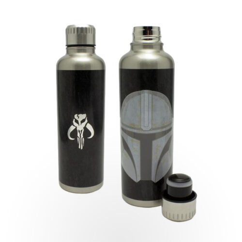 The Mandalorian Metal Water Bottle