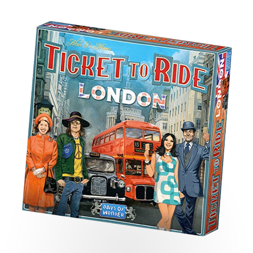 Stalo žaidimas TICKET TO RIDE: LONDON