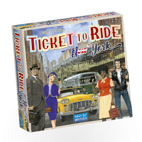 Stalo žaidimas TICKET TO RIDE: NEW YORK