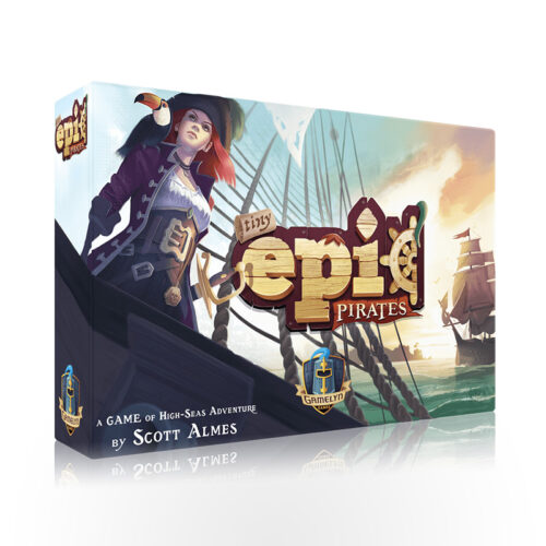 Stalo žaidimas Tiny Epic Pirates