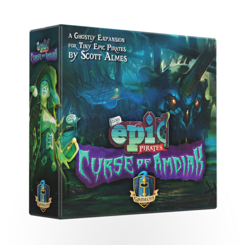 Stalo žaidimas Tiny Epic Pirates: Curse of Amdiak Expansion