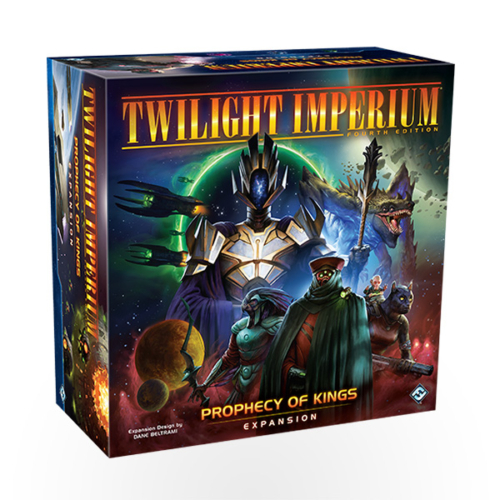 Stalo žaidimas Twilight Imperium: Fourth Edition - Prophecy of Kings
