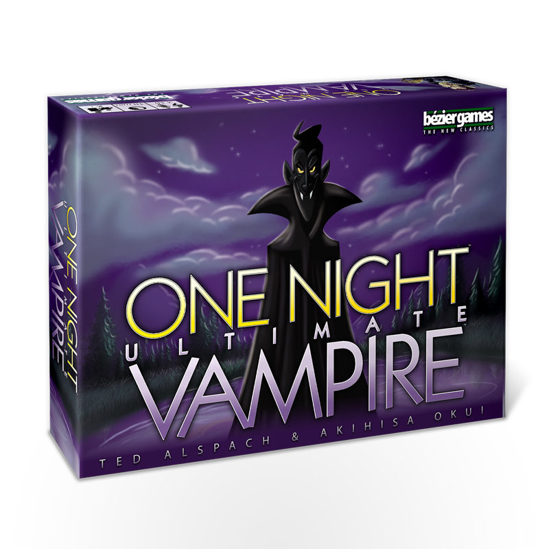 Stalo žaidimas One Night Ultimate Vampire