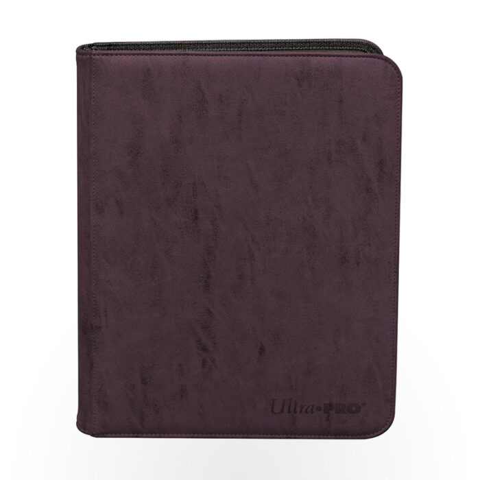Ultra-Pro - Suede Collection Zippered 9-Pocket Premium PRO-Binder - Amethyst