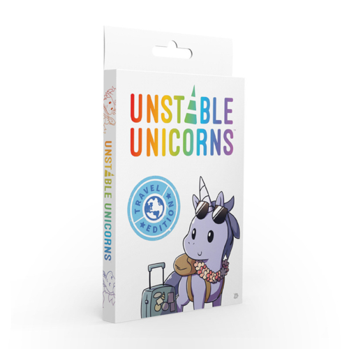 Stalo žaidimas Unstable Unicorns: Travel Edition
