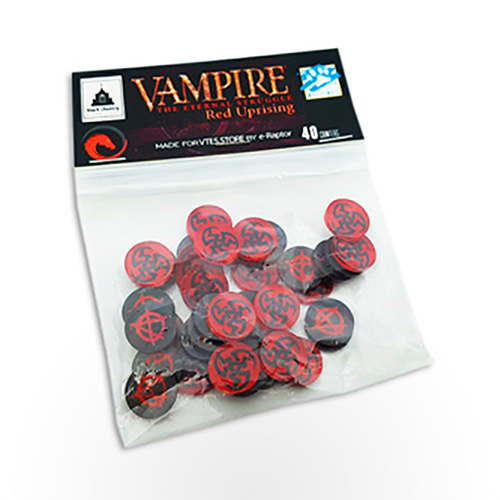 Vampire: The Eternal Struggle – Red Uprising Token Set