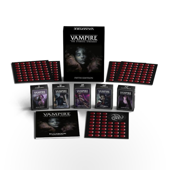 Vampire: The Eternal Struggle Fifth Edition boxed set