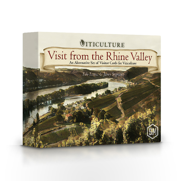 Stalo žaidimas Viticulture: Visit from the Rhine Valley