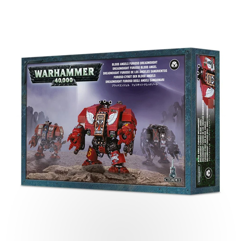 WARHAMMER 40000 Blood Angels: Furioso Dreadnought