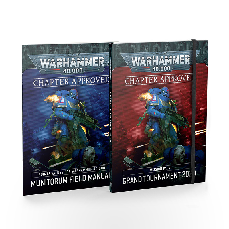 WARHAMMER 40000 Chapter Approved: Grand Tournament 2020 Mission Pack and Munitorum Field Manual