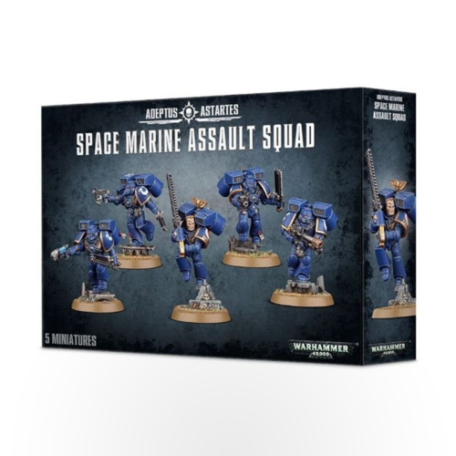 WARHAMMER 40000 Space Marines: Assault Squad