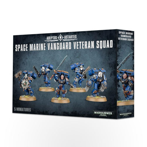 WARHAMMER 40000 Space Marines: Vanguard Veteran Squad