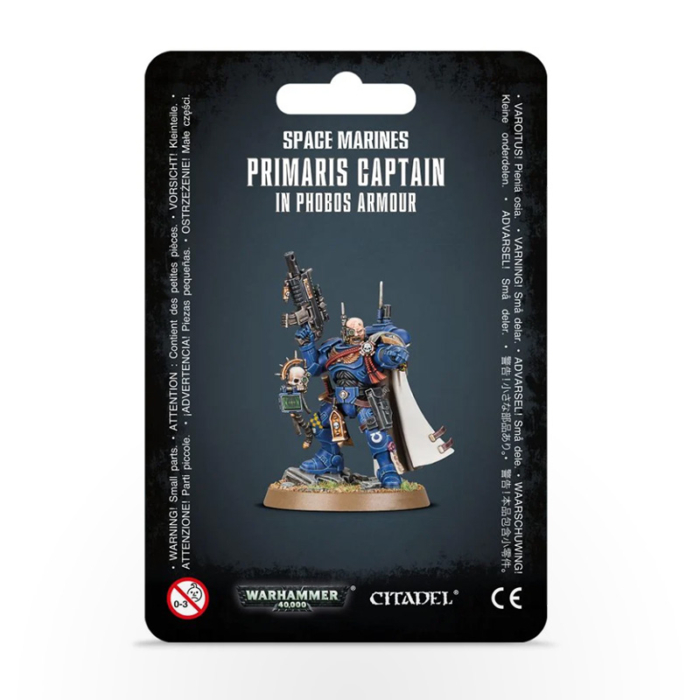 WARHAMMER 40000 Space Marines: Primaris Captain in Phobos Armour