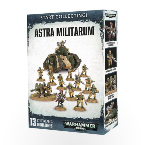 WARHAMMER 40000 - Start Collecting! - Astra Militarum